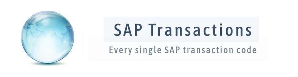 SAP Transactions